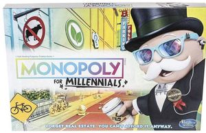 Monopoly for Millennials Millenials Board Game Hot Toy Hasbro for Sale in Albuquerque, NM