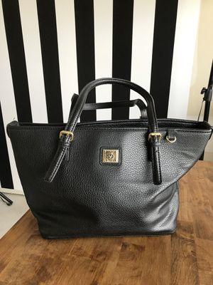 Anne Klein Black Tote Bag for Sale in Bel Aire, KS