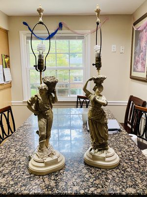 2 vintage lamps for Sale in West Springfield, VA