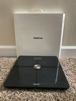 Nokia/withings Body + Digital weighing scale for Sale in Herndon, VA