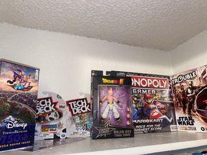 Board Games, Puzzle, & DragonBall Z for Sale in Rialto, CA