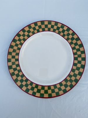 Decorative Colorful Checkered Plate for Sale in Fairfax, VA