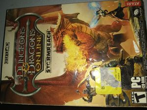 Dungeons & Dragons Online PC Game for Sale in Willards, MD