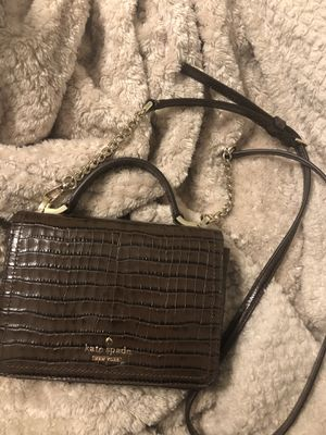 Brown Kate Spade Small Crossbody for Sale in St. Petersburg, FL