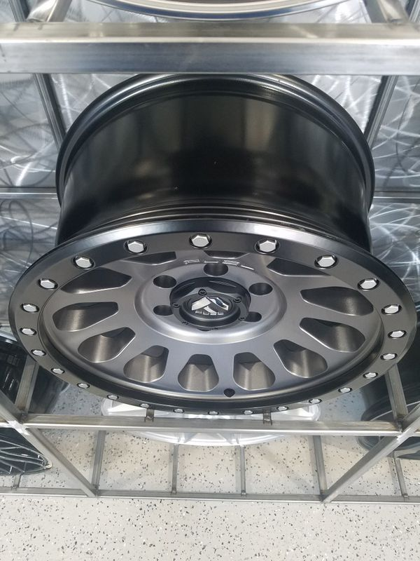 "PRICE PER WHEEL 17"" Fuel Vector D601 wheels fits tacoma 4 runner jeep wrangler rims"