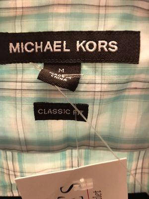 Men's Michael Kors shirt M/ L Brand New for Sale in Nashville, TN