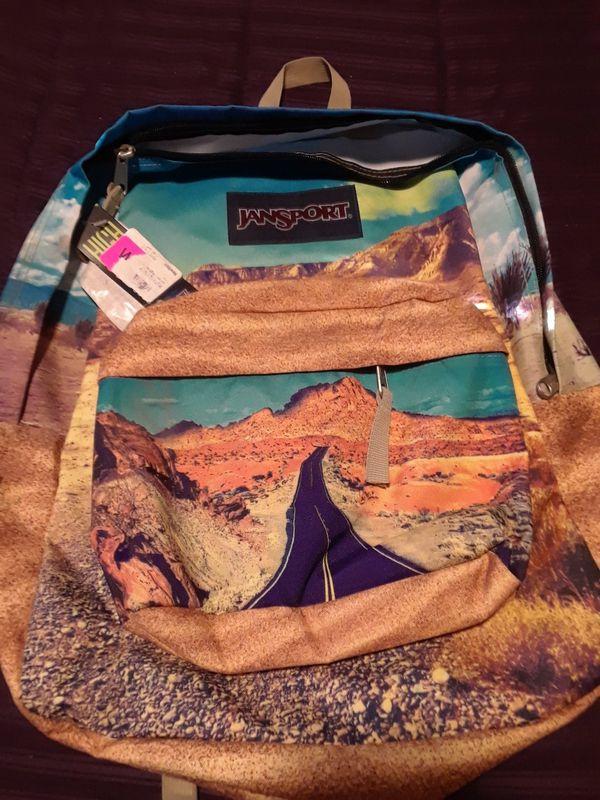 JanSport High Stakes Backpack - Desert Highway