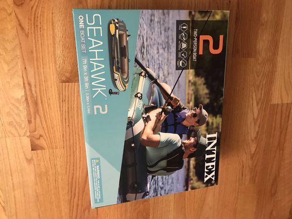 Intex Seahawk Inflatable Boat Series 2