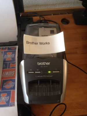Brother QL-570 Pro Label Printer for Sale in Baltimore, MD