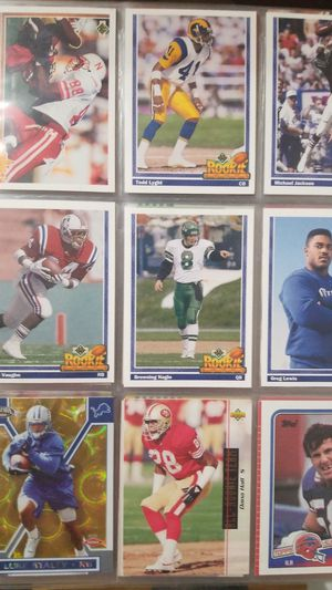 Over 250 Rookie Sports cards in excellent condition for Sale in Portland, OR