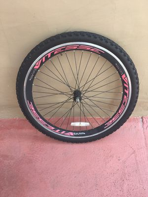 """26"""" Alloy Front VITESSE AERO Bicycle Wheel Mountain Bike, Good Condition. $30 OBO. for Sale in Lake Worth, FL"""