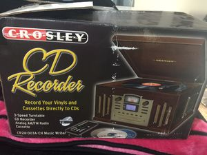 Crosley CD recorder for Sale in Spring Hill, FL