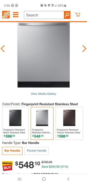 Samsung dishwasher for Sale in Los Angeles, CA