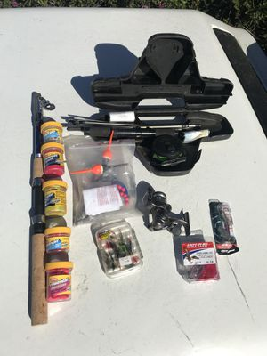2 sets of Backpacker fishing supplies for Sale in San Francisco, CA