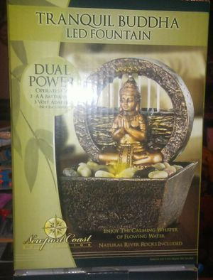 TRANQUIL BUDDHA LED FOUNTAIN BRAND NEW for Sale in New Ringgold, PA