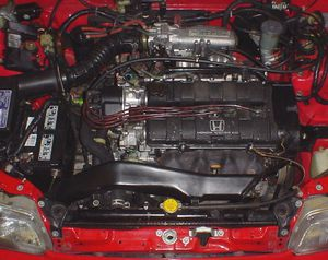 1988-1991 Honda CRX-Civic DOHC ZC Full swap for Sale in Vancouver, WA