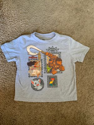 Moana 3t boy shirt for Sale in Hemet, CA