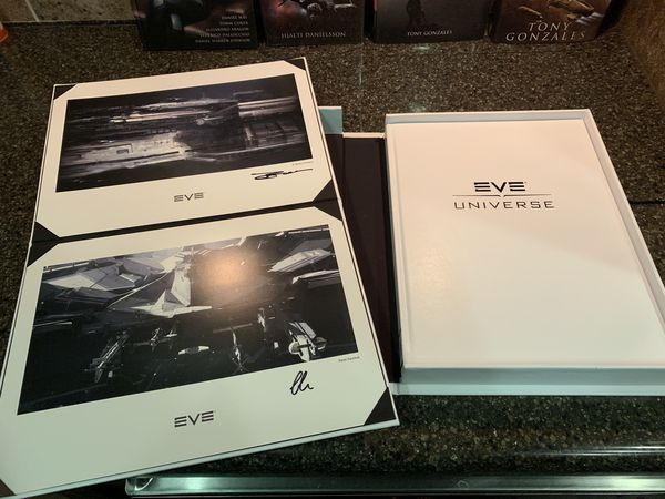 Eve Online collectible books