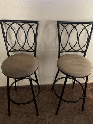 bar stools 40$ for Sale in Victorville, CA