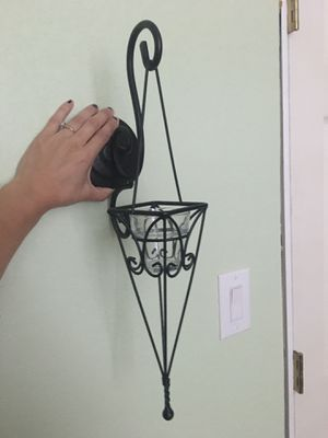 Candle holders from home interiors/ candeleros 2 for Sale in Dallas, TX