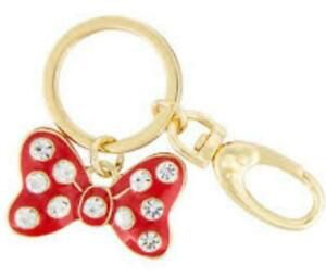 DISNEY PARKS MINNIE MOUSE RED BOW RHINESTONES KEYCHAIN for Sale in Montebello, CA