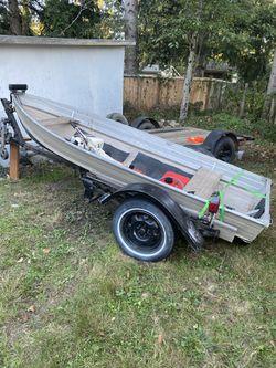 12ft aluminum boat for Sale in Bonney Lake,  WA