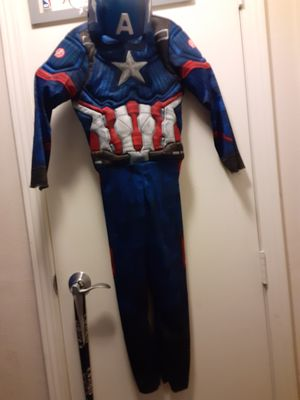 Captain America costume size small for Sale in Murfreesboro, TN