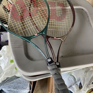 Wilson Tennis Rackets for Sale in Olympia, WA