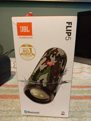 JBL FLIP 5 ARMY FATIGUE for Sale in Tacoma, WA