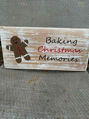 Rustic handmade Christmas sign for Sale in Lake Charles, LA