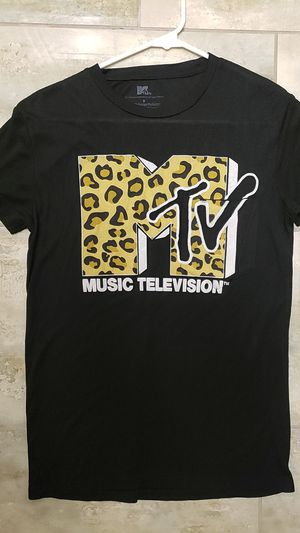 MTV TM Music Television black T-shirt short sleeve vintage goth alternative punk rock halloween costume for Sale in Scottsdale, AZ