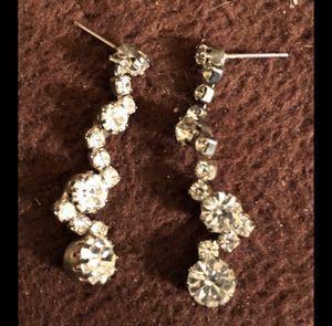 Dangling Diamond - Earrings for Sale in Harrison charter Township, MI