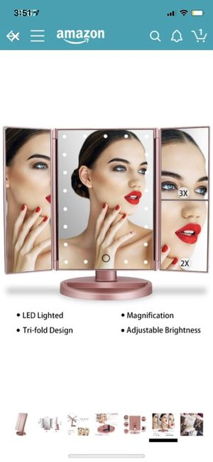 Makeup Mirror (touch screen) for Sale in Washougal, WA