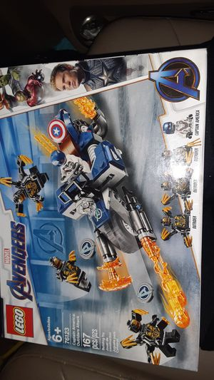 Lego Avengers: captain America, outriders attack for Sale in OR, US