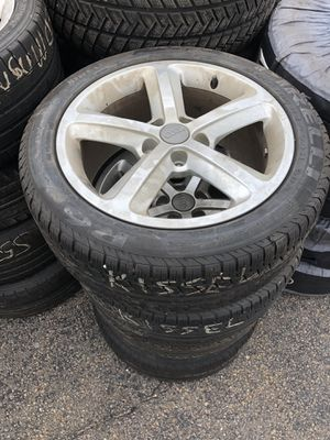 Audi wheels and tires for Sale in Dedham, MA