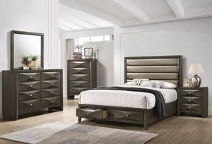 Beautiful Modern Queen Bedroom Set Only $54 Down for Sale in Duncanville, TX
