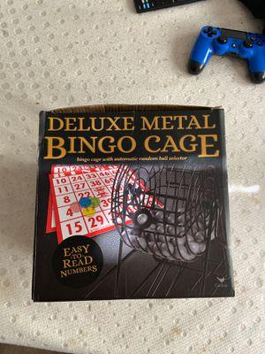 Deluxe bingo set for Sale in Greenville, NC