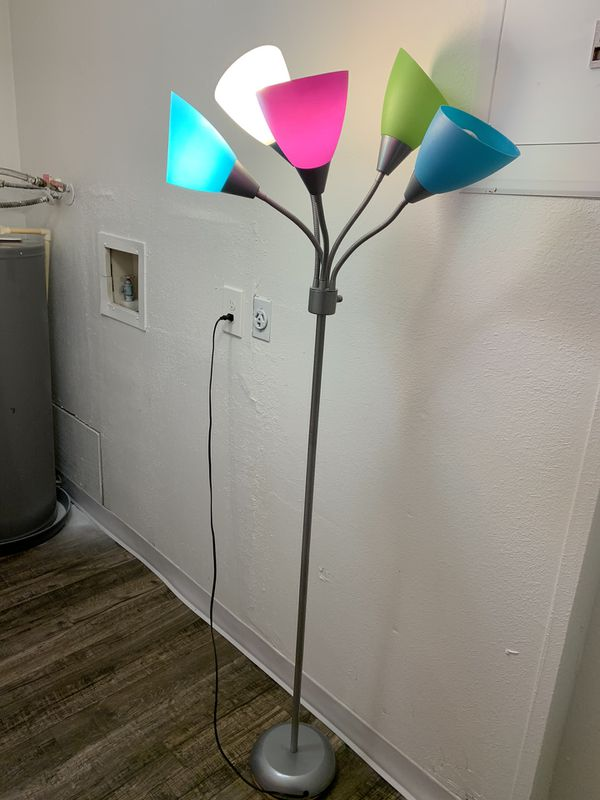 Colored Floor Lamp