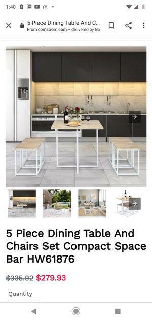 New 5 Piece Kitchen Dining Table Set for Sale in Long Beach, CA