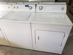 WHIRLPOOL WASHER AND ELECTRIC DRYER for Sale in Modesto, CA