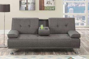Grey futon 🎈🎈🎈 for Sale in Fresno, CA