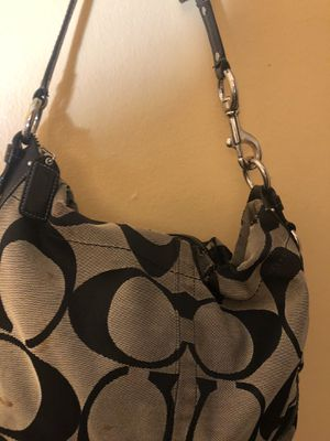 Black and Gray Coach bag for Sale in FAIRMOUNT HGT, MD