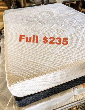 💥Brand new Blue Gel Memory Foam Mattress💥 Queen Mattress only-$260 Mattress & box spring-$320 Full Mattress only-$235 Mattress & box spring-$295 for Sale in Pico Rivera, CA