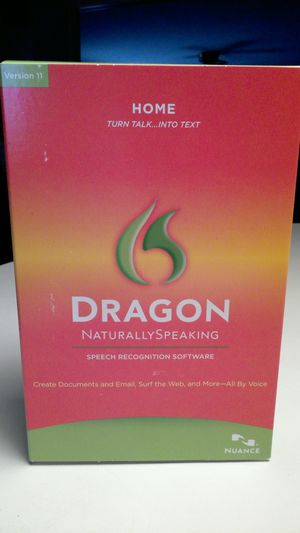 New Dragon Naturally Speaking Speech Recognition Software with Headset for Sale in North Royalton, OH
