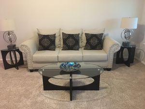 Five piece living room and dining room for sale for Sale in Houston, TX