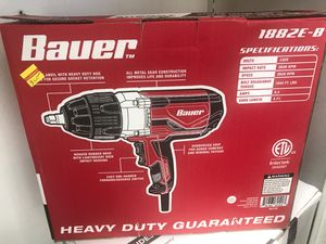 BAUER CORDED IMPACT WRENCH for Sale in Worcester, MA