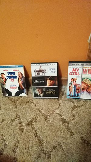 DVD movies 6$ each for Sale in Marshfield, MO