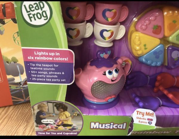 Fisher price , Minnie Mouse kitchen set , Musical Rainbow Tea Party