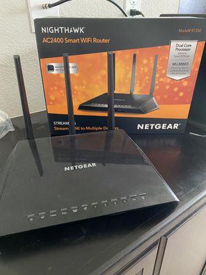 Nighthawk AC2400 Smart WiFi Router #R7350 for Sale in Elk Grove, CA