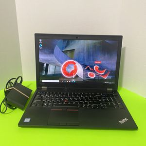 . Graphic design Powerful Lenovo Thinkpad P53 Laptop , Intel I7-9th Gen,16GB Ram, 512GB SSD,15 Inch ,NVidia Quadra T1000 for Sale in Arlington, TX